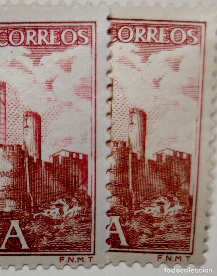 Sellos: SELLO ESPAÑA variedad con DISTINTA TONALIDAD por DESPLAZAMIENTO DEL COLOR.Nuevas sin fijasellos.LUJO - Foto 2 - 268888129