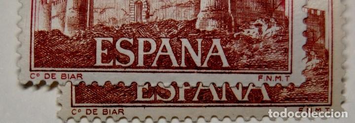 Sellos: SELLO ESPAÑA variedad con DISTINTA TONALIDAD por DESPLAZAMIENTO DEL COLOR.Nuevas sin fijasellos.LUJO - Foto 7 - 268888129