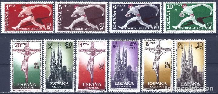 EDIFIL 1280-1289 CONGRESO INTERNACIONAL DE FILATELIA 1960 (COMPLETA). VALOR CATÁLOGO: 34 €. MNH ** (Sellos - España - II Centenario De 1.950 a 1.975 - Nuevos)
