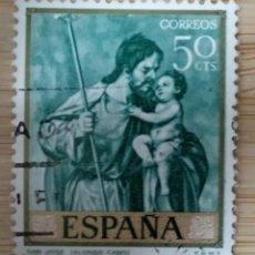 Sellos: SELLO ESPAÑA EDIFIL N°1911 SAN JOSÉ ALONSO CANO. Lote 270385558