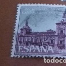 Sellos: SELLO DE 2 PESETAS 1961 IV CENTENARIO CAPITALIDAD DE MADRID EDIFIL 1390 USADO. Lote 270553458