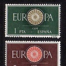 Sellos: SERIE NUEVA DE ESPAÑA TEMA EUROPA 1960 SIN FIJASELLOS. Lote 272641723
