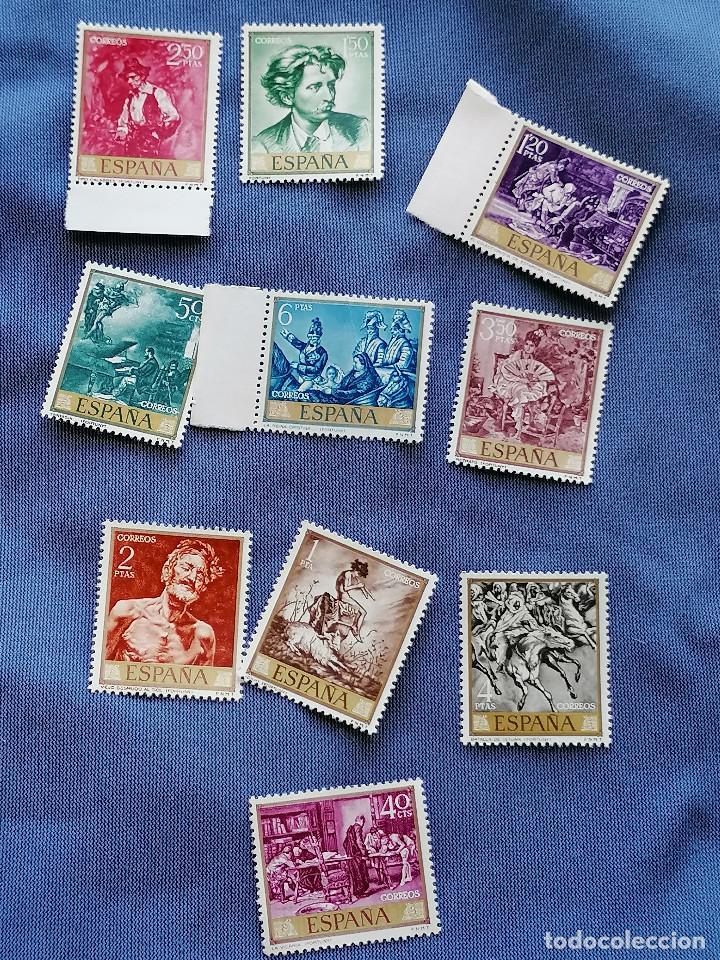 Sellos: España lote sellos Pintura Fortuny 5 Serie Completa Edifil 1854/3 nuevos MNH *** - Foto 5 - 273996198