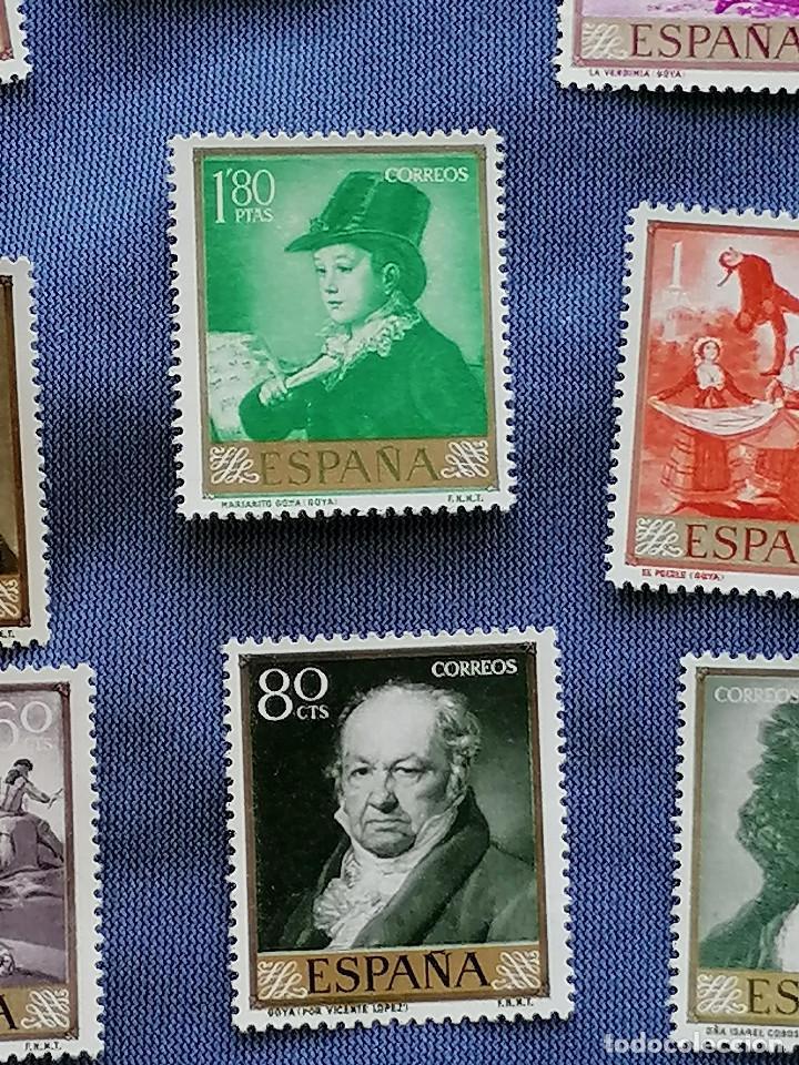 Sellos: España sellos Pintura Goya Serie Completa Edifil1210/9 nuevos MNH *** - Foto 2 - 273996913