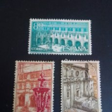 Sellos: MONASTERIO DE SAMOS. 1960. EDIFIL 1322/1324. SERIE COMPLETA. USADA.. Lote 274666198