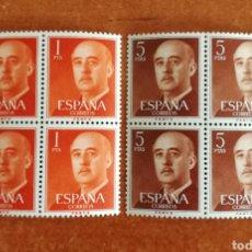 Sellos: ESPAÑA N°1290/91 MNH** FRANCO BARCELONA 1960 (FOTOGRAFÍA REAL). Lote 296735113