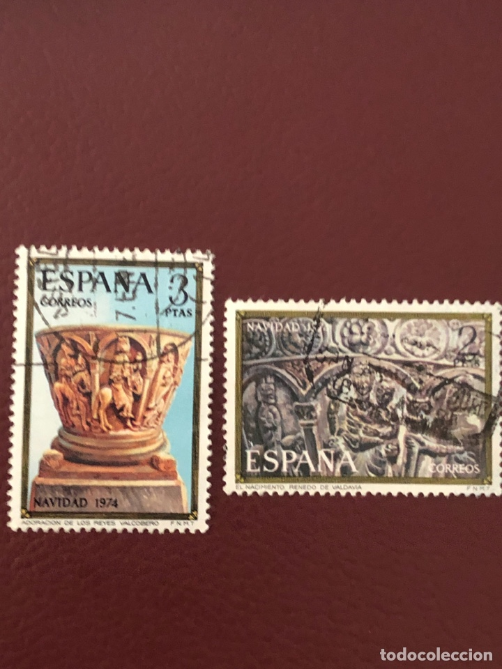 SELLOS NAVIDAD 1974. EDIFIL (Sellos - España - II Centenario De 1.950 a 1.975 - Usados)