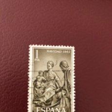 Sellos: SELLOS NAVIDAD 1962 EDIFIL. Lote 275918198