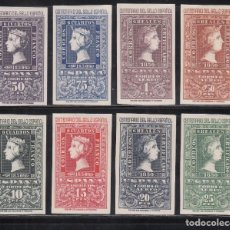 Selos: ESPAÑA, 1950 EDIFIL Nº 1075 / 1082, /*/, CENTENARIO DEL SELLO ESPAÑOL. Lote 275931228