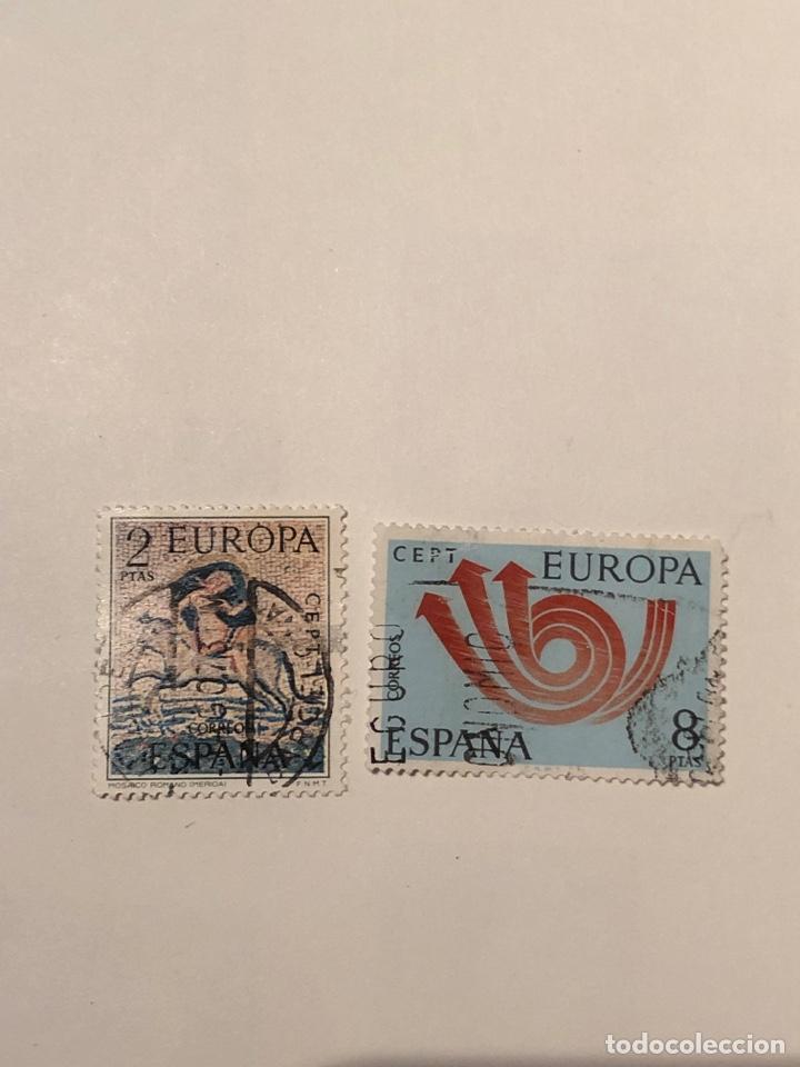 SELLOS EUROPA 1973. EDIFIL (Sellos - España - II Centenario De 1.950 a 1.975 - Usados)