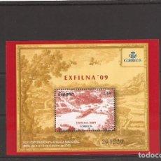 Sellos: SELLOS DE ESPAÑA AÑO 2009 EXFILNA´09 HB NUEVA** Nº EDIFIL 4512. Lote 276125083