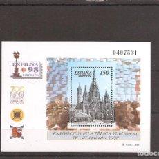 Sellos: SELLOS DE ESPAÑA AÑO 1998 EXFILNA´, HB NUEVA** Nº EDIFIL 3557. Lote 276125673