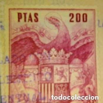 Sellos: Sellos fiscales sellados 4 de 300 ptas numeración correlativa 1 de 200 ptas + bono regalo 2 sellos - Foto 4 - 276187823