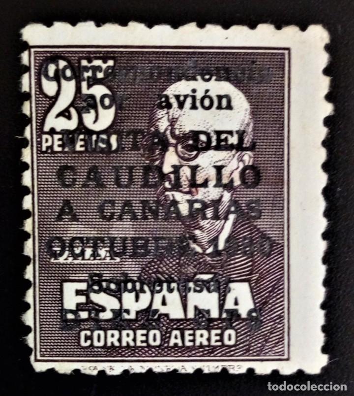 FRANCO VISITA CAUDILLO A CANARIAS EDIFIL 1090 ** VER IMÁGENES (Sellos - España - II Centenario De 1.950 a 1.975 - Nuevos)