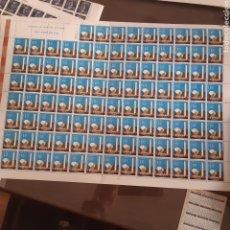 Francobolli: SELLOS ESPAÑA XXV AÑOS DE PAZ PLIEGO 100 SELLOS 1,5 PTAS EDIFIL1583 AÑO 1964. Lote 276449558