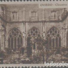 Sellos: LOTE X-SELLO VIÑETA CROMO NUEVO CON GOMA OVIEDO GALLETAS NANUK AÑOS 30. Lote 297173488