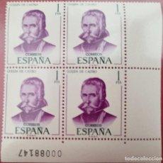 Sellos: 4 SELLOS GUILLÉN DE CASTRO. Lote 277125183