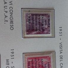 Sellos: SELLOS 1951 VISITA DEL CAUDILLO A CANARIAS Y OTROS 1951 52. Lote 277272708