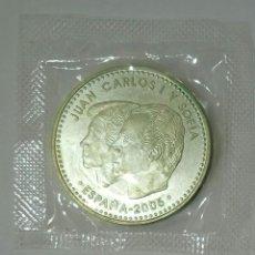 Sellos: 12 EUROS PLATA 2005 IV CENTENARIO QUIJOTE SIN CIRCULAR,EN SU ENVOLTORIO ORIGINAL.. Lote 277534028