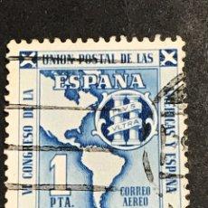 Sellos: EDIFIL 1091 UNIÓN POSTAL DE LAS AMÉRICAS Y ESPAÑA, USADO, BONITO, EL DE LA FOTO.. Lote 277660463