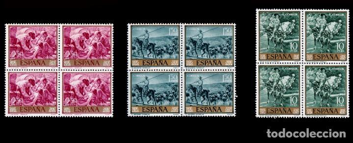 Sellos: España.1964.Joaquín Sorolla.Serie Blq 4.MNH.Edifil.1566-1575 - Foto 4 - 277738273