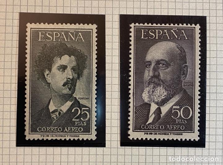 FORTUNY Y TORRES QUEVEDO 1956 (Sellos - España - II Centenario De 1.950 a 1.975 - Nuevos)