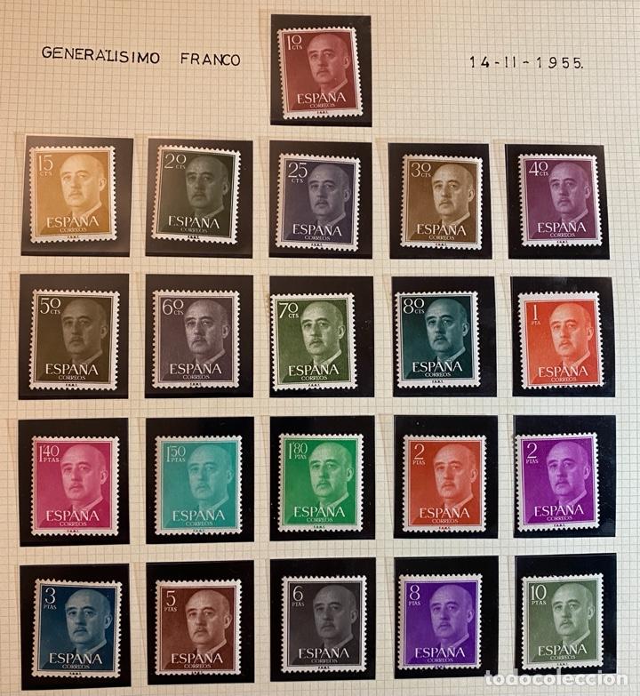 FRANCO 1955 (Sellos - España - II Centenario De 1.950 a 1.975 - Nuevos)