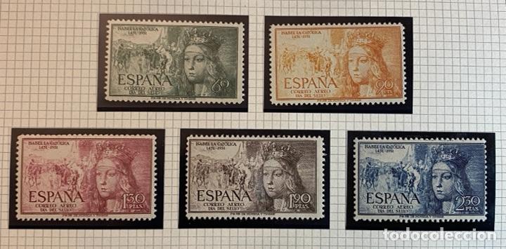 V CENTENARIO NACIMIENTO ISABEL LA CATOLICA 1952 (Sellos - España - II Centenario De 1.950 a 1.975 - Nuevos)