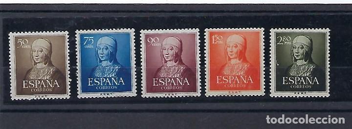 ESPAÑA. AÑO 1951. ISABEL LA CATÓLICA. (Sellos - España - II Centenario De 1.950 a 1.975 - Nuevos)