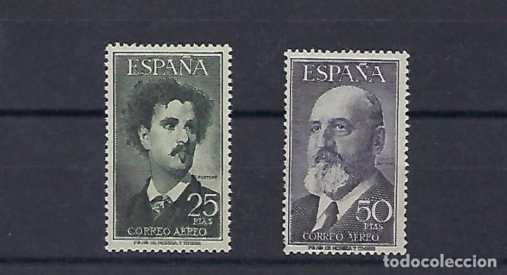 ESPAÑA. AÑOS 1955-1956. FORTUNY Y TORRES QUEVEDO. (Sellos - España - II Centenario De 1.950 a 1.975 - Nuevos)