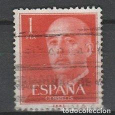 Sellos: TV_003/ ESPAÑA USADO, GENERALISIMO FRANCO DE 1 PTA.. Lote 278371858