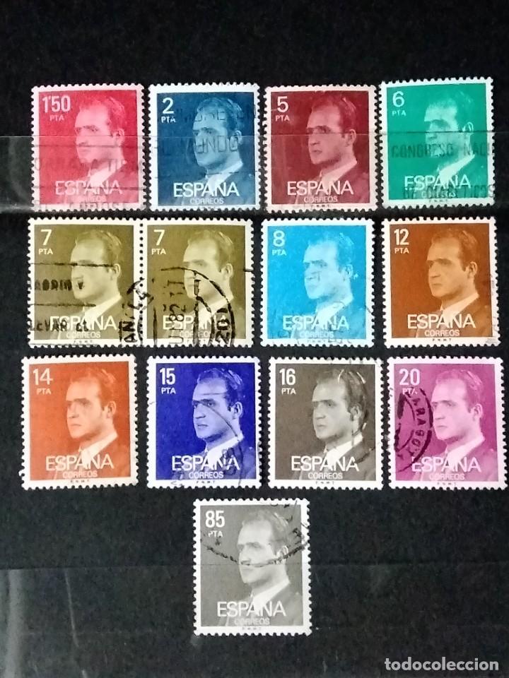 SELLOS ESPAÑA - JUAN CARLOS L - JUC (Sellos - España - II Centenario De 1.950 a 1.975 - Usados)