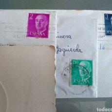 Sellos: LOTE 3 SELLOS DE FRANCO EN CARTA. Lote 278567273