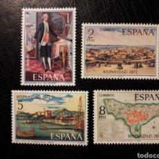 Sellos: ESPAÑA EDIFIL 2107/10 SERIE COMPLETA NUEVA *** 1972 HISPANIDAD. PUERTO RICO. PEDIDO MÍNIMO 3€. Lote 279485053