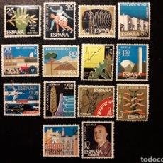 Sellos: ESPAÑA EDIFIL 1576/89 SERIE COMPLETA NUEVA *** 1964 XXV AÑOS DE PAZ. PEDIDO MÍNIMO 3€. Lote 279485193