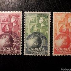 Sellos: ESPAÑA EDIFIL 1595/7 SERIE COMPLETA NUEVA *** 1964 DÍA MUNDIAL DEL SELLO. PEDIDO MÍNIMO 3€. Lote 279485208