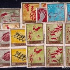 Sellos: SELLOS DE ESPAÑA AÑO 1967 PINTOR DESCONOCIDO SELLOS NUEVOS** EN BLOQUE DE 4. Lote 293945143