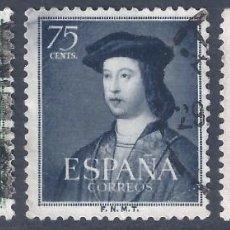 Sellos: EDIFIL 1106-1108 V CENTENARIO FERNANDO EL CATÓLICO 1952.. Lote 284512573