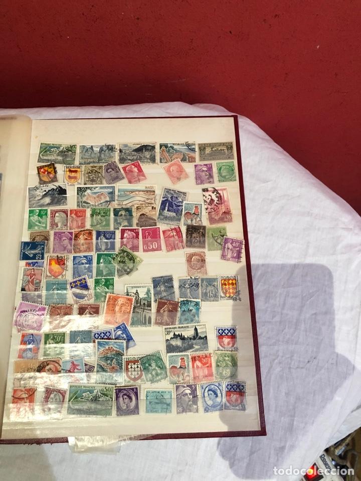 Sellos: Álbum de sellos antiguos - Foto 8 - 286831608
