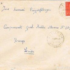 Sellos: 0973. CARTA LA BATLLORIA (BARCELONA) 1963. RARO FECHADOR. Lote 286951033