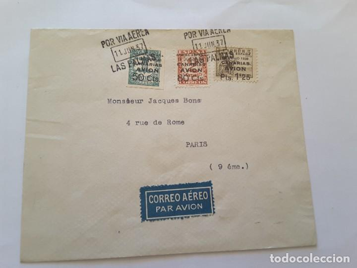 CARTA ESPAÑA (Sellos - España - II Centenario De 1.950 a 1.975 - Cartas)