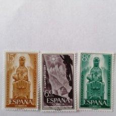 Sellos: SELLOS ESPAÑA,1956, SERIA COMPLETA 3 UNID. NUEVOS **. Lote 287582753