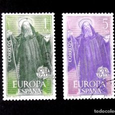 Sellos: 1675-76, SERIE USADA, FOTO ESTÁNDAR. EUROPA-CEPT.. Lote 287918153