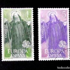 Sellos: 1675-76, SERIE USADA, FOTO ESTÁNDAR. EUROPA-CEPT.. Lote 287918553