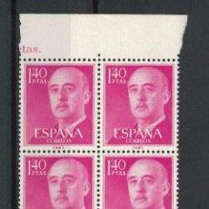 Francobolli: R22.FR.5/ GENERAL FRANCO 1955-56, EDIFIL 1154**. Lote 288186653