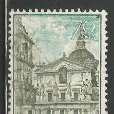 Sellos: ESPAÑA - 1961 - 70 CENTIMOS - MONASTERIO DEL ESCORIAL - EDIFIL 1382 - USADO. Lote 289479903