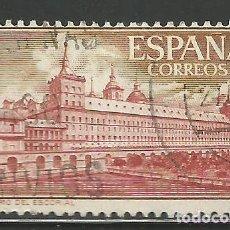 Sellos: ESPAÑA - 1961 - 1 PESETA - MONASTERIO DEL ESCORIAL - EDIFIL 1384 - USADO. Lote 289486533
