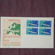 Sellos: SELLO ESPAÑA 1970, N°1989 BLOQUE DE CUATRO EN S.F.C. -A343. Lote 289498843