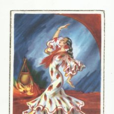 Sellos: POSTAL CIRCULADA 1954 DE MALAGA A BARCELONA. Lote 289571328