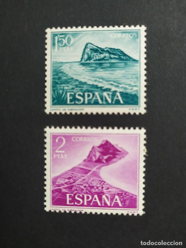 ## ESPAÑA NUEVO 1969 TRABAJADORES EN GIBRALTAR 2 SELLOS ## (Sellos - España - II Centenario De 1.950 a 1.975 - Nuevos)
